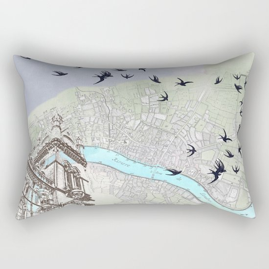 The redemption of memory Rectangular Pillow