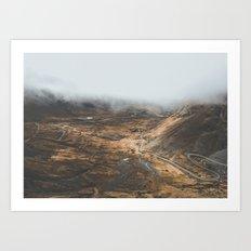 Death Road, Bolivia II Art Print