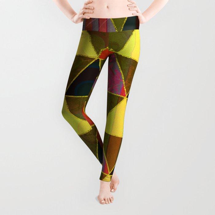 Abstract #474 Leggings