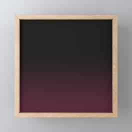 Faded Background, Burgundy, Color Change Framed Mini Art Print