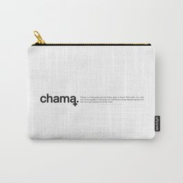 Chama Wiki Carry-All Pouch