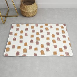 Peanut Butter Jelly Time Rug