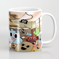 gumball Mugs featuring GUMBALL by rosita