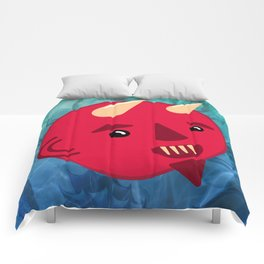 Smiley Demon Comforters