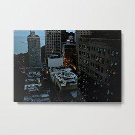 Michigan Lake View Metal Print