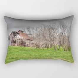 Abandoned Barn 5 Rectangular Pillow