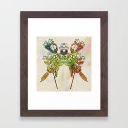 Grow Like Peas Framed Art Print