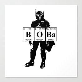 Boba Canvas Print