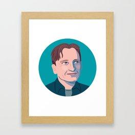 Queer Portrait - Christopher Isherwood Framed Art Print