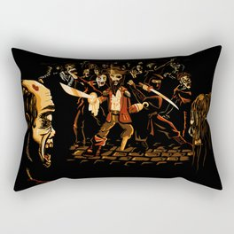 The Last Stand! Rectangular Pillow