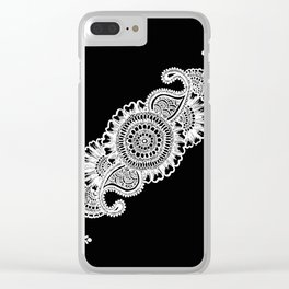 Sneha (Love) #3 Inverted Clear iPhone Case