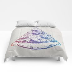All Seeing Pizza Comforters