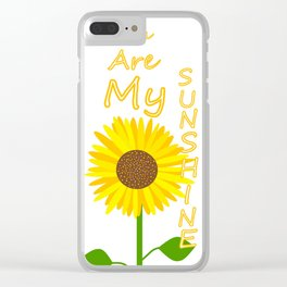 You Light Up My Day Clear iPhone Case