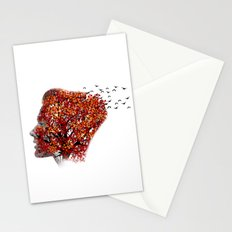 Nature girl Stationery Cards