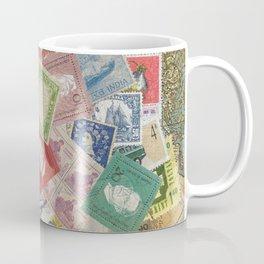 World Stamps Coffee Mug