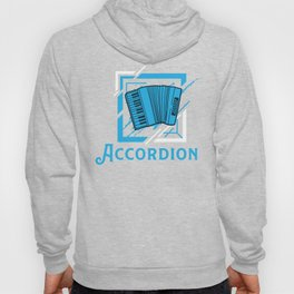 Accordion Concertina Melodeon Piano Accordion Gift Hoody