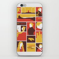 lannister iPhone & iPod Skins featuring House Lannister by Jack Howse