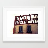building Framed Art Prints featuring Building by PerfectPixel