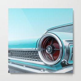 US American classic car 1963 Galaxie 500  Metal Print