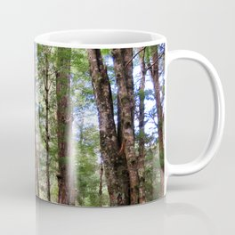 New Zealand Birch Forest Coffee Mug