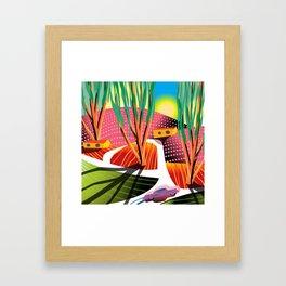 Trip to Elysian Park Framed Art Print