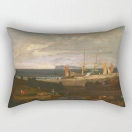 "J.M.W. Turner ""A Scene On The English Coast"" Rectangular Pillow"