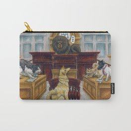 A Dog Day at Court Carry-All Pouch