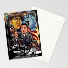 threat level midnigt Stationery Cards