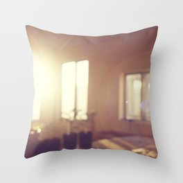 view from my window Throw Pillow