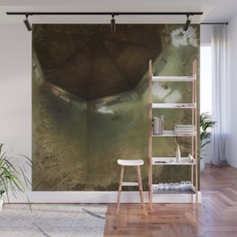 'The Dawning Light' Interior Painting of Octagon Ceiling in the Morning Windows Realism Wall Mural