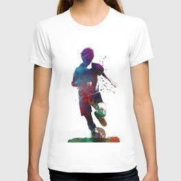 Football soccer player #soccer #football T-shirt