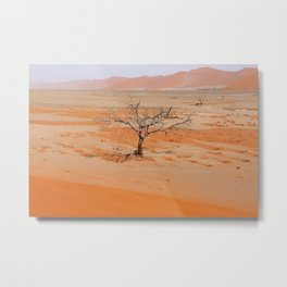 NAMIBIA ... Namib Desert Tree V Metal Print