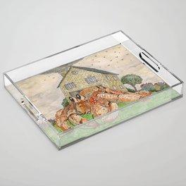 Hermit Apocalypse Acrylic Tray