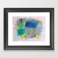 Breath and Space Framed Art Print
