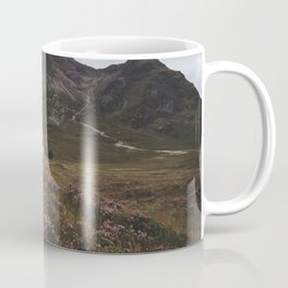 The moorland house - Landscape and Nature Photography Coffee Mug