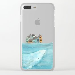 I'm here with you Clear iPhone Case