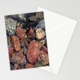 River Gravel Stationery Cards