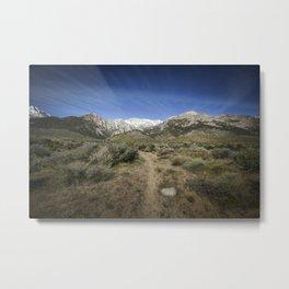 Hiking The Eastern Sierra Slope 4-29-20 Metal Print