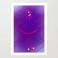 eugenia loli Art Prints featuring Loli Punk by Vee D Alexx