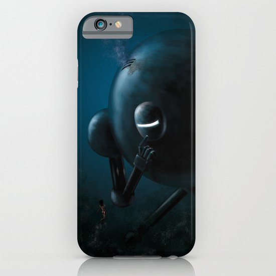 Smooth robot iPhone & iPod Case