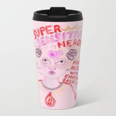 Super Sensitive Heroine Metal Travel Mug