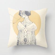Echoed Throw Pillow