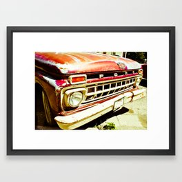 Ford Tough (2) Framed Art Print