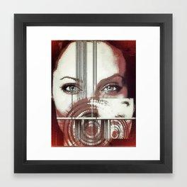 jolie's voice... Framed Art Print
