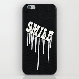 Dripping Smile iPhone Skin