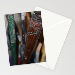 Brushes Stationery Cards
