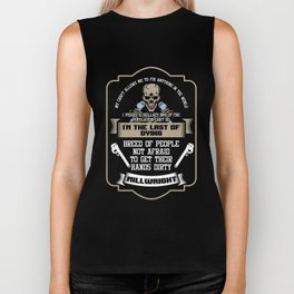 Awesome Millwright I'm The Last Of Dying Machinist Biker Tank