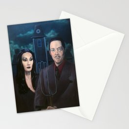 Addams Family Gothic Stationery Cards