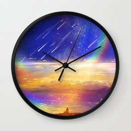 Waiting for a New Day Wall Clock