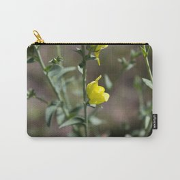 Yellow Snapdragon Carry-All Pouch